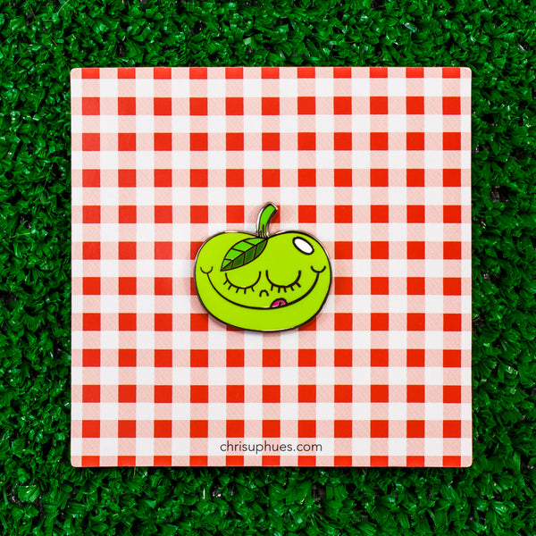 Tasty Apple Pin