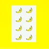Scratch and Sniff Sticker Set of 16 - Chill Banana