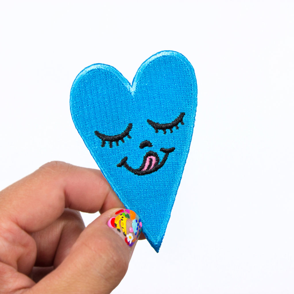 Cool Blue Heart Patch
