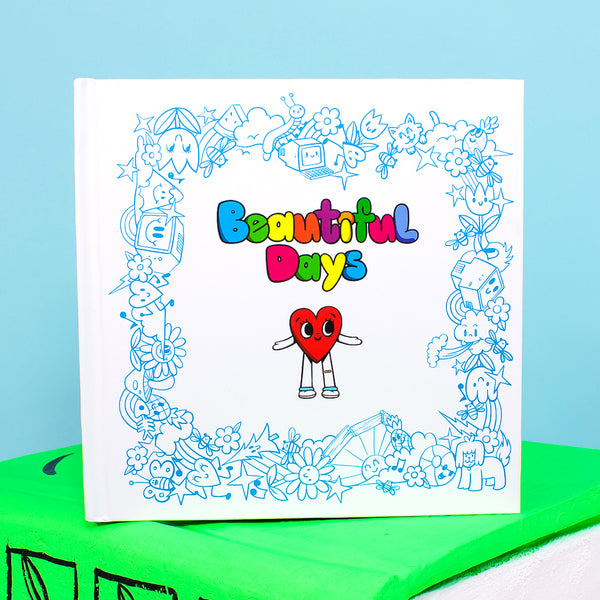 Beautiful Days Hardcover Book