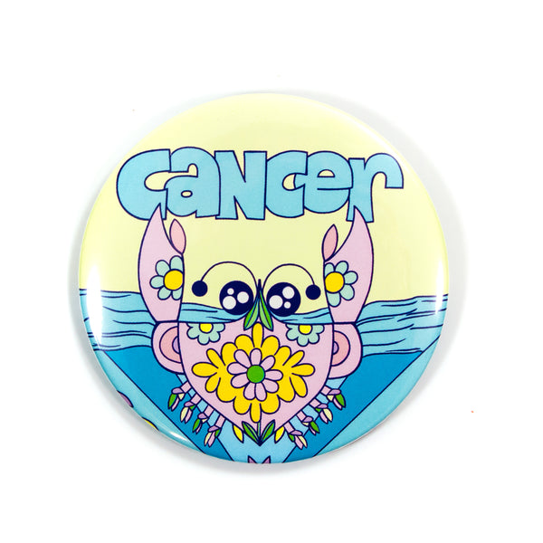 XL Zodiac Button: Cancer