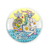 "3"" Zodiac Button / Travel Mirror: Capricorn"