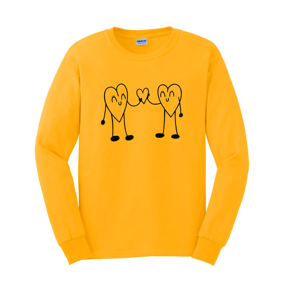 Heart to Heart Kid's Long Sleeve Tee