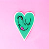 Minty Sweetheart Vinyl Sticker