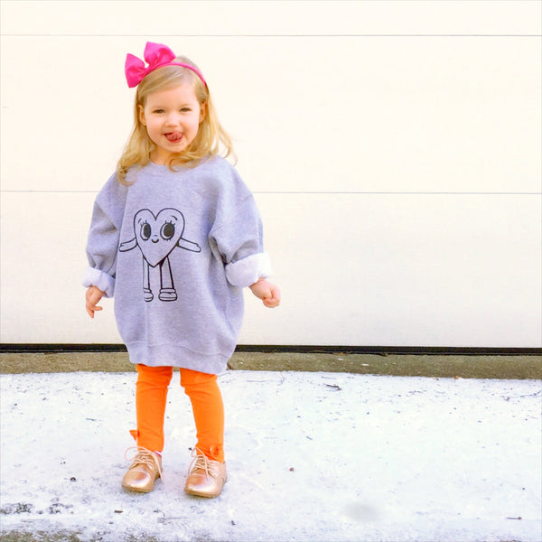 Friendly Heart Sweatshirt - Kids