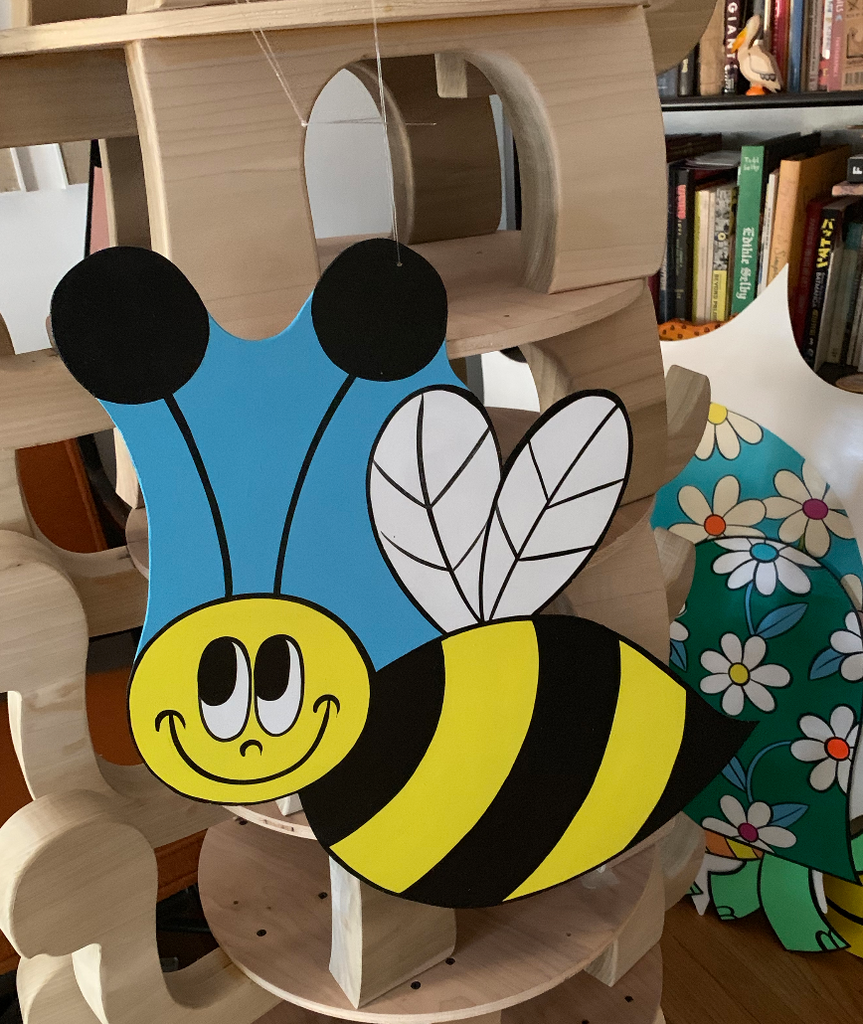 Bee Cut-out
