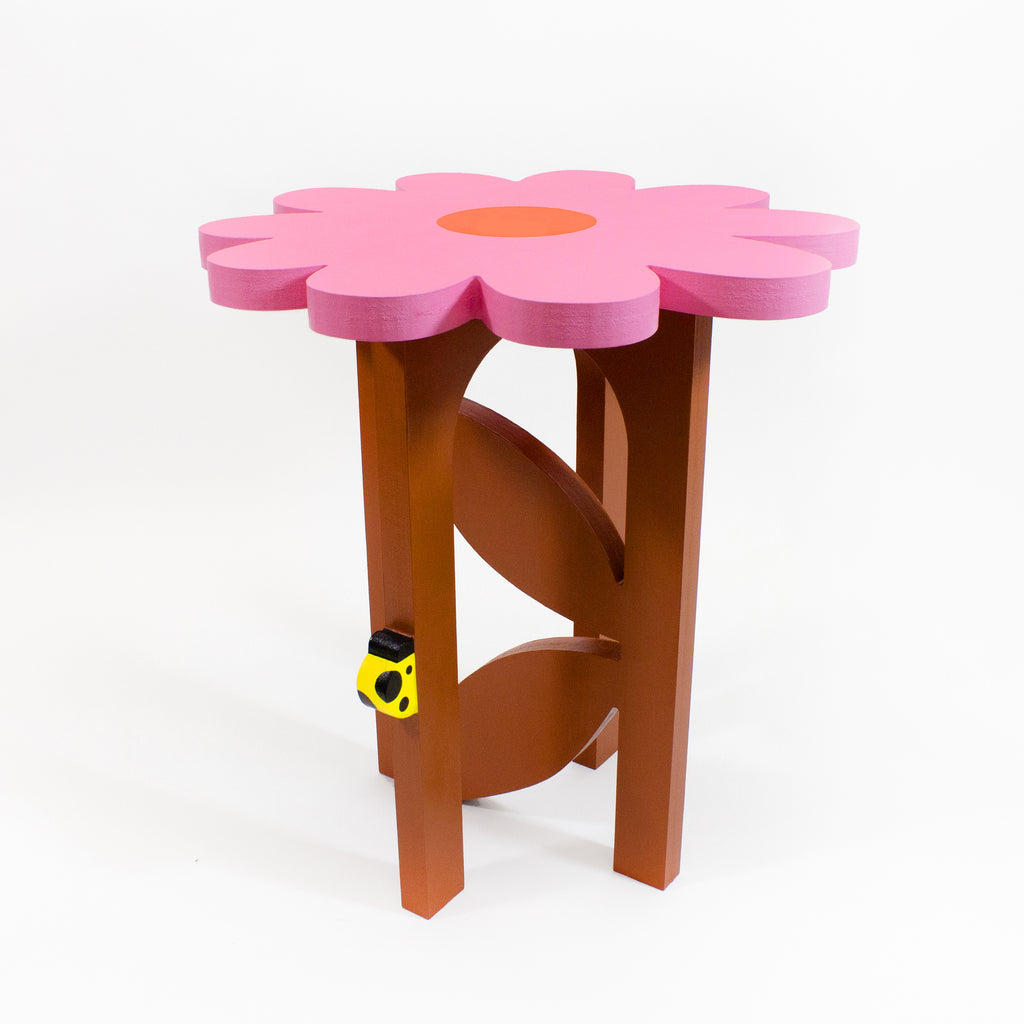 Sweet Daisy Table: Pink