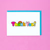 Thank You Card Set of 6