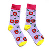 Chris Uphues + DEGEN Cheery Tulip Artist Edition Socks