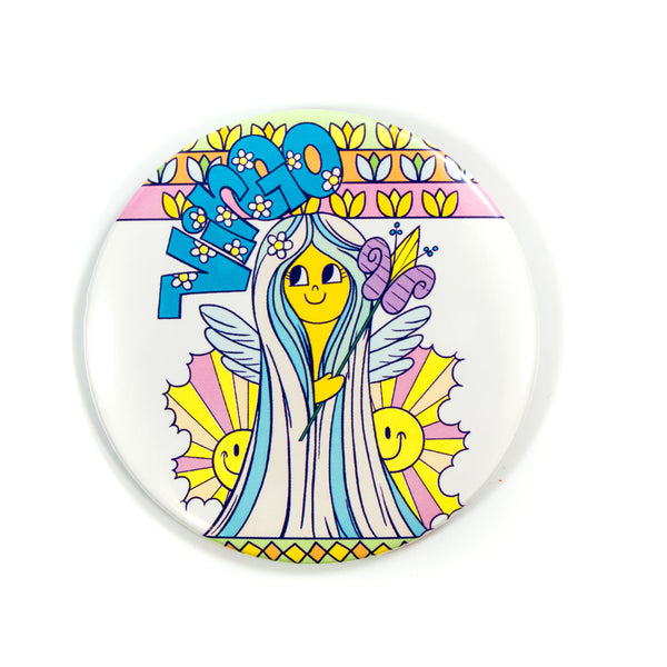 XL Zodiac Button: Virgo