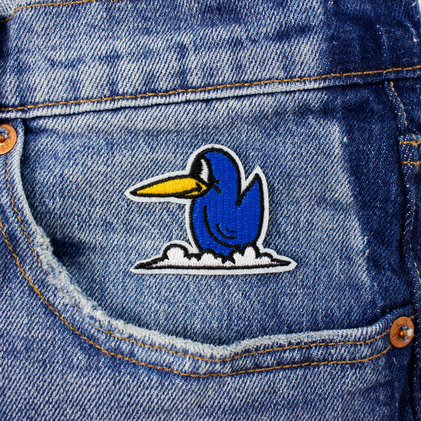 Little Bluebird Stick-On Patch