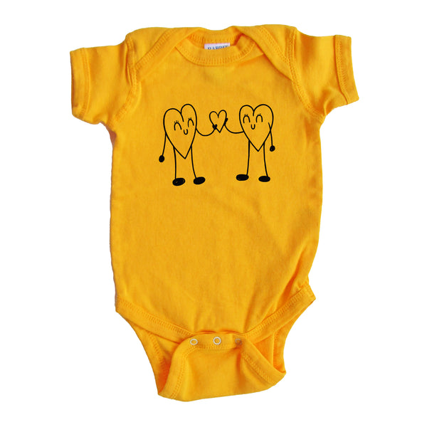 Heart to Heart Onesie