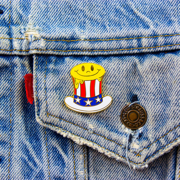 Melty America Pin