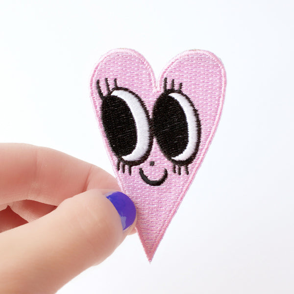 Pastel Pink Heart Patch