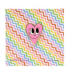 Bubble Gum Pink Heart Pin