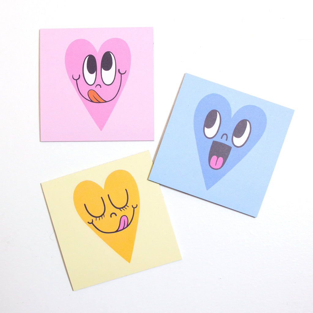 Sweet Heart Post-It Note Set