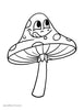 Shroom Coloring Page - Free Downloadable PDF