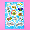Spring Has Sprung Sticker Sheet