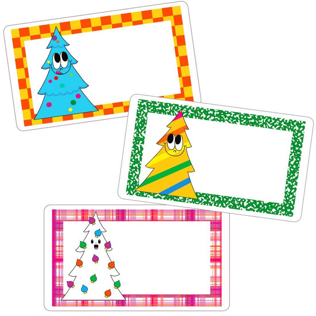 XL Gift Tag Sticker Set of 6