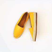 CECILY YELLOW RAFFIA ESPADRILLE - Milsouls