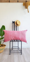 PINK LUMBAR PILLOW