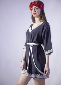 KESH MOROCCAN TUNIC DRESS - Milsouls