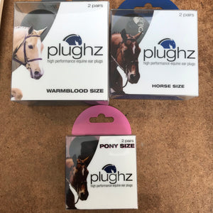 Plughz Ear Plugs for Horses