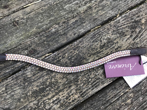 Shires Aviermore Browband Rose Gold