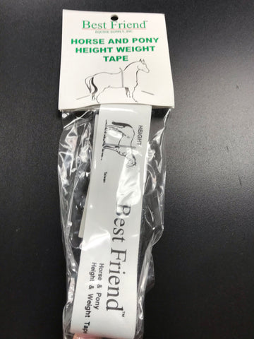 Best Friend Height and Weight Tape