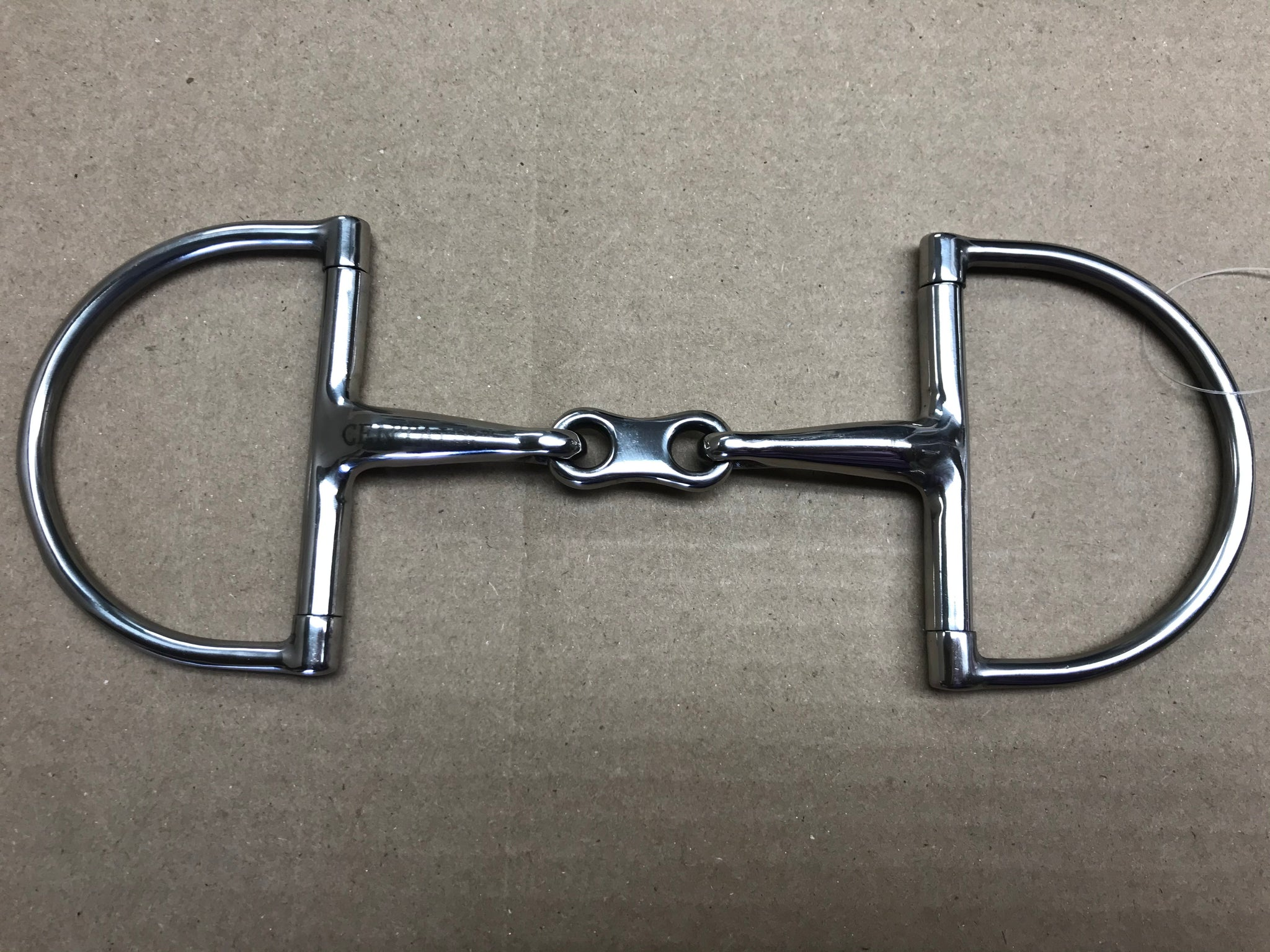 Centuar French Link Dee Ring Snaffle Bit