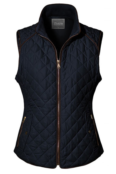 Womens Quilted Puffer Vest is a must have this season -Shop Bennetts Clothing for the best in womens wear and boots