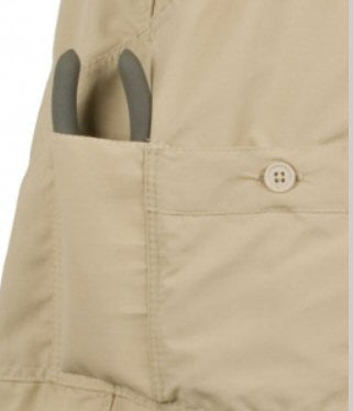 AFTCO MO1L Long Fishing Short-Khaki - Bennett's Clothing - 2