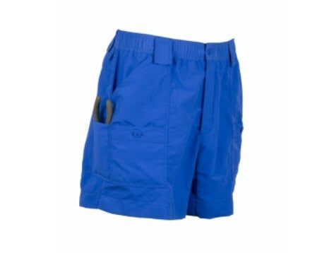 AFTCO Original MO1 Fishing Shorts-Royal - Bennett's Clothing