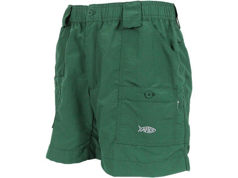 "AFTCO M01 ""Original"" Fishing Shorts-Green - Bennett's Clothing"