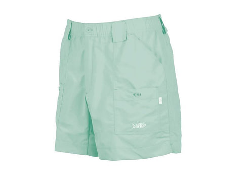 "AFTCO M01 ""Original"" Fishing Shorts-Mint - Bennett's Clothing"