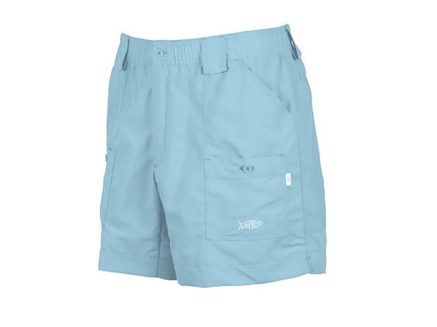 "AFTCO M01 ""Original"" Fishing Shorts-Sky Blue - Bennett's Clothing"