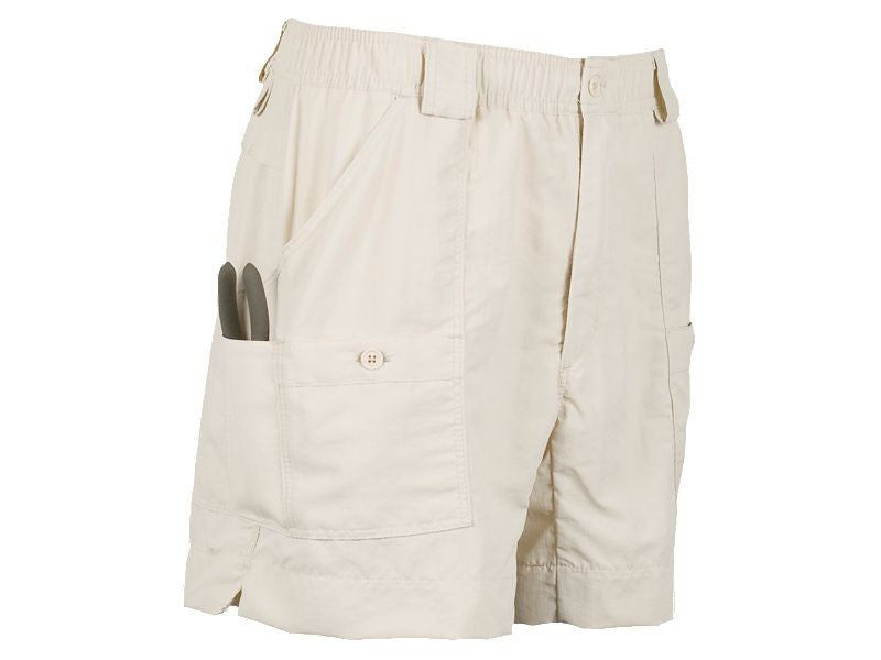 "AFTCO M01 ""Original"" Fishing Shorts-Natural - Bennett's Clothing"