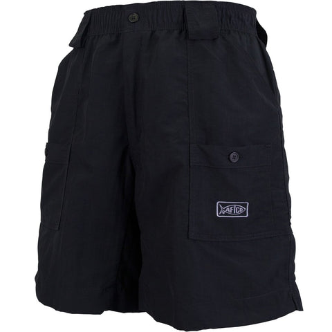AFTCO MO1L Long Fishing Short-Black