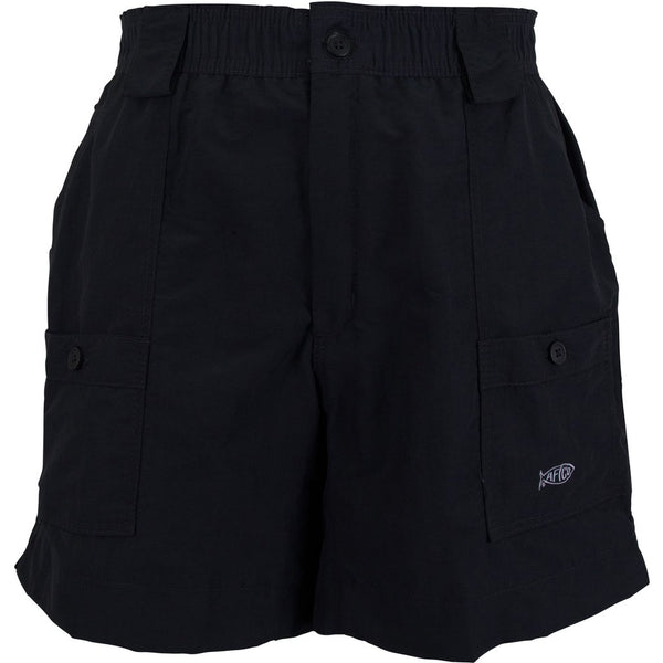 AFTCO Original MO1 Fishing Shorts-Black