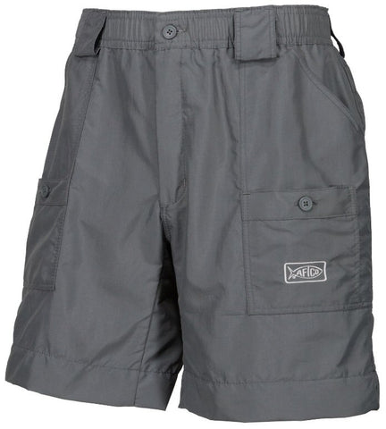 "AFTCO M01 ""Original"" Fishing Shorts-Charcoal"