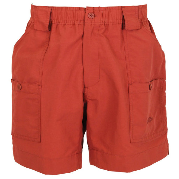 "AFTCO M01 ""Original"" Fishing Shorts-Paprika"