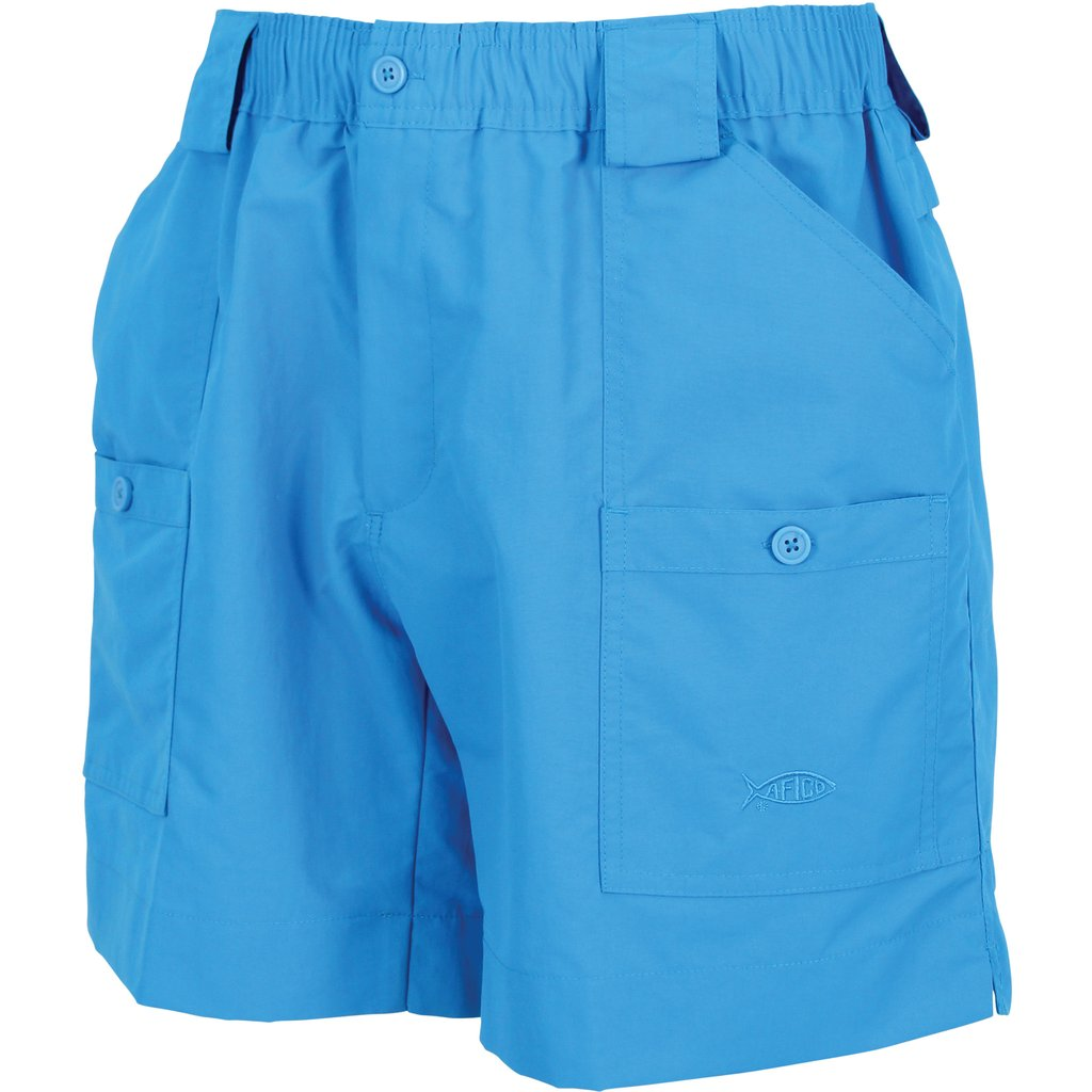 "AFTCO M01 ""Original"" Fishing Shorts-Vivid Blue"