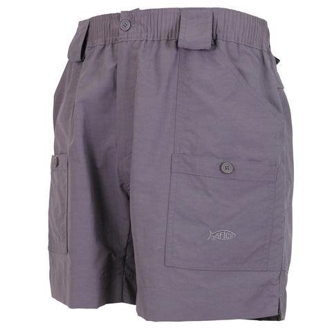"AFTCO M01 ""Original"" Fishing Shorts-Dark Plum"