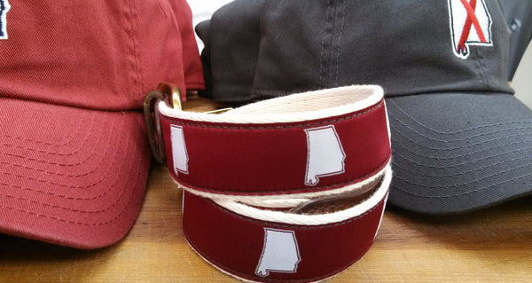 State Traditions Alabama Gameday Belt-Crimson - Bennett's Clothing - 2