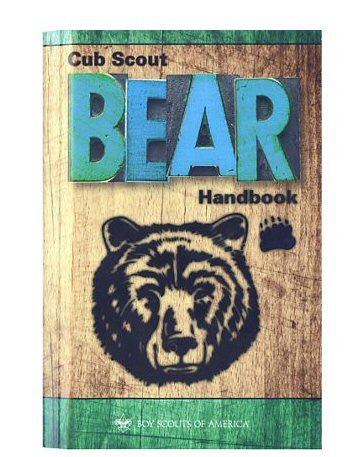 Bear Scout Handbook -Shop Bennetts Clothing for all your Scouting needs. BSA Authorized Retailer for over 35 years
