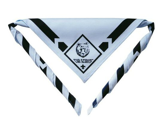 Cub Scout Bear Neckerchief is part of the official Scout Uniform. Bennett's has sold Scout supplies for over 40 years and ships orders same day 6 days a week.