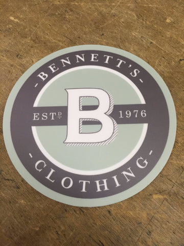 Bennett's Sticker-Small - Bennett's Clothing