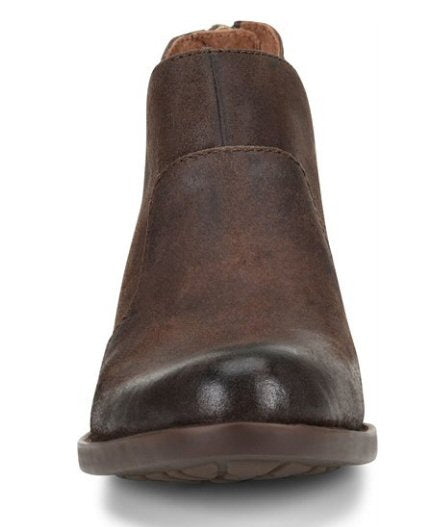 Born Womens Kerri Boot-Dark Brown Distressed