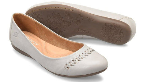 eebf32ba6 Born Madeleine flat sets your style apart from the rest. Shop Bennetts  Clothing for a. Born Womens Madeleine Ballet Flats-Grey