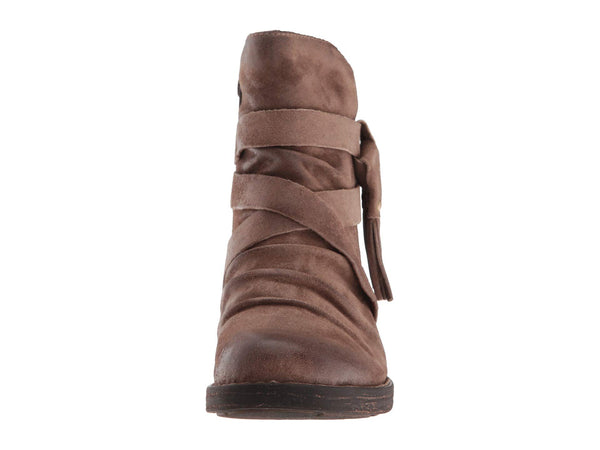 Born Eton Boot-Taupe Distressed